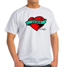 Twilight Alice Heart Tattoo T-Shirt