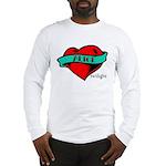 Twilight Alice Heart Tattoo Long Sleeve T-Shirt