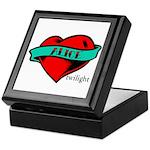Twilight Alice Heart Tattoo Keepsake Box
