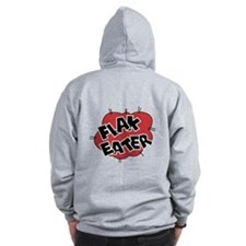 Flak Eater Nose Art Pocket + Back Zip Hoodie