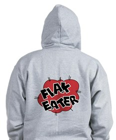 Flak Eater Nose Art Pocket + Back Zip Hoody