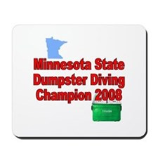 MN champ / red Mousepad