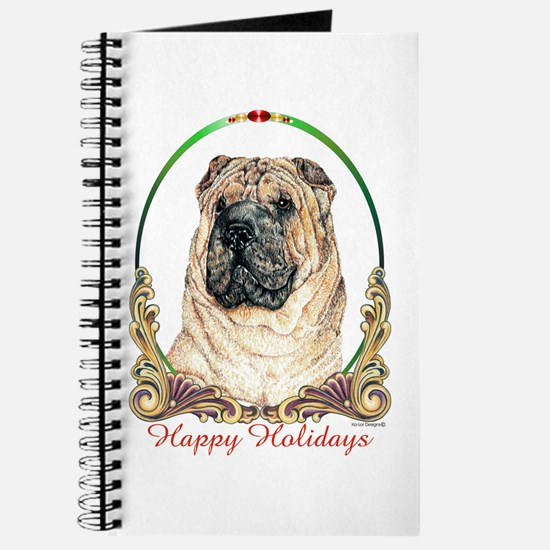 Chinese Shar Pei Holiday Journal