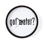 got water? Wall Clock
