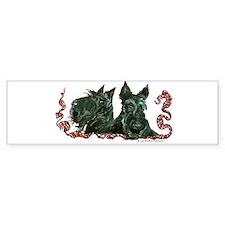 Scottish Terrier Pair Bumper Bumper Sticker