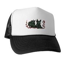 Scottish Terrier Pair Trucker Hat