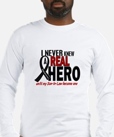 Never Knew A Hero 2 MELANOMA (Son-In-Law) Long Sle