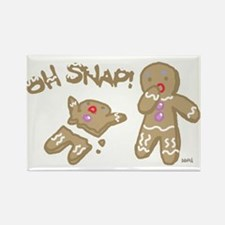 Oh Snap Holiday Rectangle Magnet