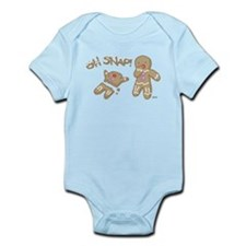 Oh Snap Holiday Infant Bodysuit