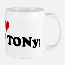 I Love My BOP TONy; Mug