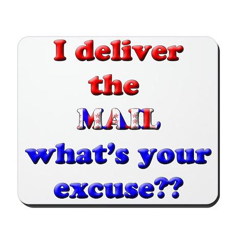 Mailman Excuse Mousepad