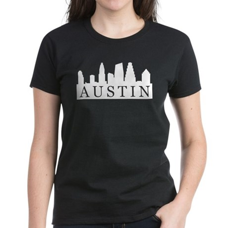 Austin Skyline Women's Dark T-Shirt