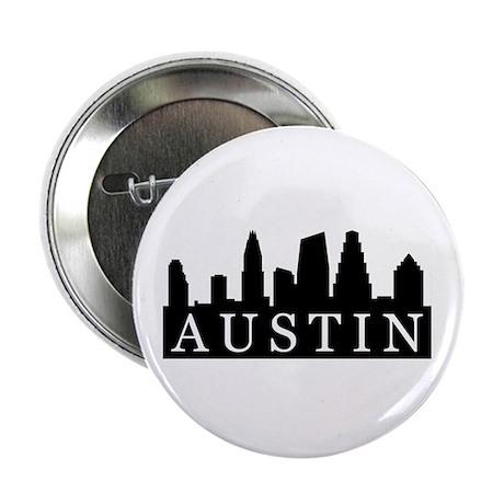 """Austin Skyline 2.25"""" Button (10 pack)"""