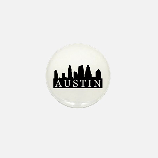 Austin Skyline Mini Button