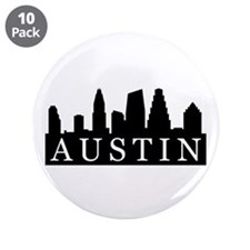 "Austin Skyline 3.5"" Button (10 pack)"