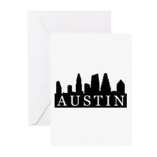 Austin Skyline Greeting Cards (Pk of 20)