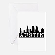 Austin Skyline Greeting Cards (Pk of 20)
