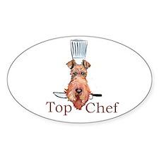 Irish Terrier Chef Decal