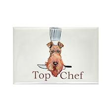 Irish Terrier Chef Rectangle Magnet