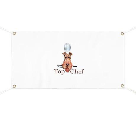Irish Terrier Chef Banner
