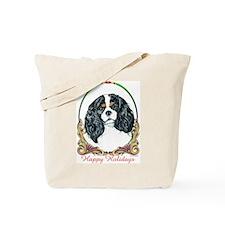 Cavalier King Charles Spaniel Holiday Tote Bag