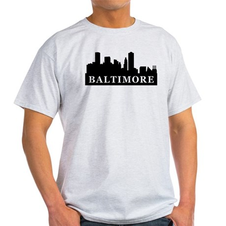 Baltimore Skyline Light T-Shirt