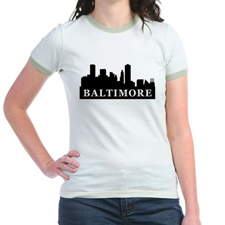 Baltimore Skyline Jr. Ringer T-Shirt