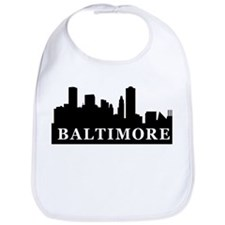 Baltimore Skyline Bib