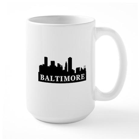 Baltimore Skyline Large Mug