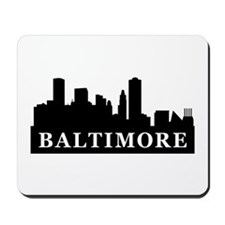 Baltimore Skyline Mousepad