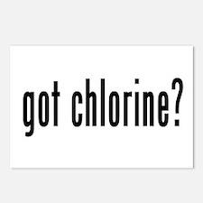 got chlorine? Postcards (Package of 8)