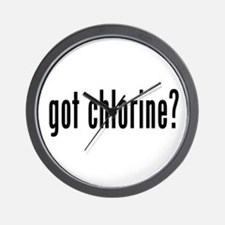 got chlorine? Wall Clock
