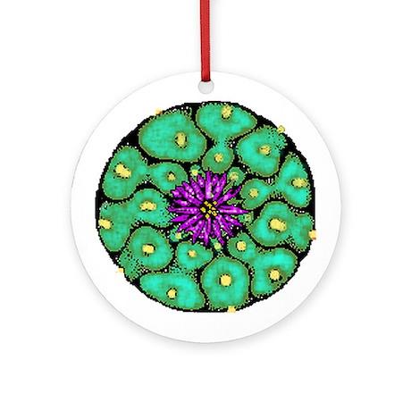 Peyote Button Ornament (Round)
