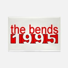 the bends 1995 Rectangle Magnet