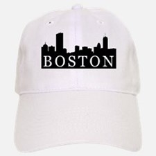 Boston Skyline Baseball Baseball Cap