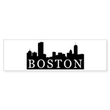Boston Skyline Bumper Bumper Sticker