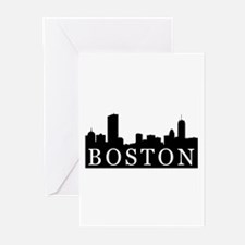Boston Skyline Greeting Cards (Pk of 20)