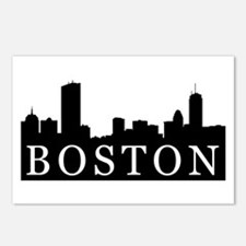 Boston Skyline Postcards (Package of 8)