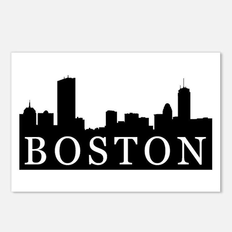 Boston Skyline Postcards (Package of 8)