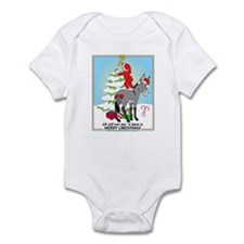 Christmas Donkey Infant Bodysuit
