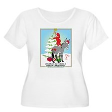 Christmas Donkey T-Shirt