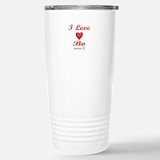 I LOVE BO Travel Mug