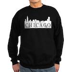 Chicago Skyline Sweatshirt (dark)