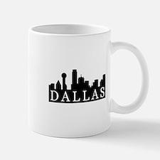 Dallas Skyline Small Small Mug