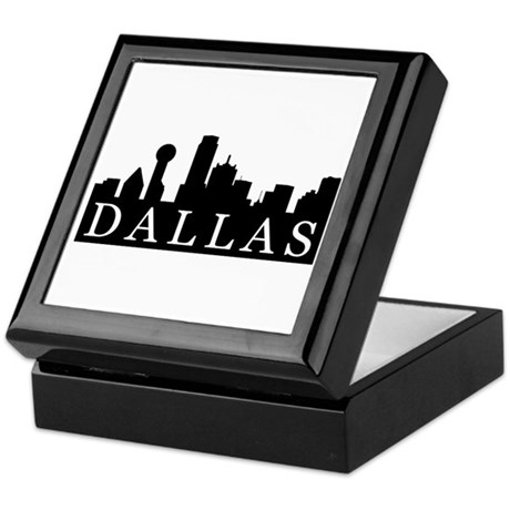 Dallas Skyline Keepsake Box