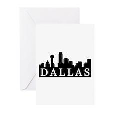Dallas Skyline Greeting Cards (Pk of 10)