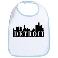 Detroit Skyline Bib