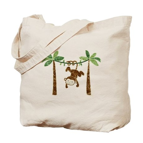 silly monkey Tote Bag