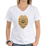 Wheat Ridge Police Women's V-Neck T-Shirt