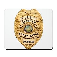 Wheat Ridge Police Mousepad